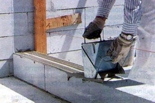Применение ячеистого бетона для постройки стен