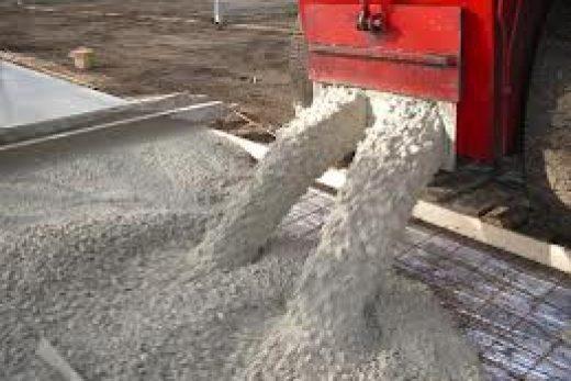 Бетон для производства тротуарной плитки