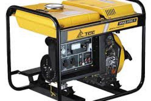 Автономное электроснабжение для строительных работ-генераторы