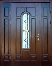 Стальная дверь со стеклом