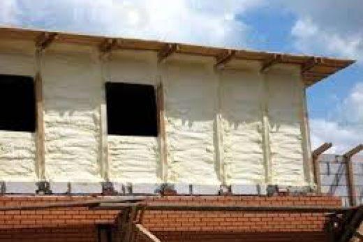 Утепляем стены самостоятельно-утепление дома пенополиуретаном