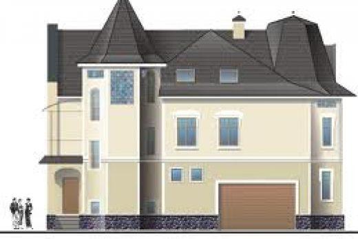 Грамотное оформление фасада дома