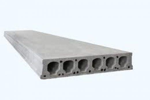 Использование железобетонных плит перекрытия