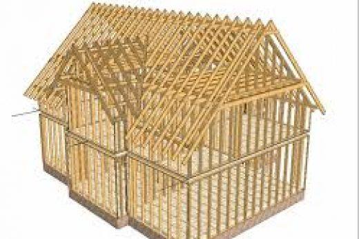 Панельно-каркасное строительство деревянных домов