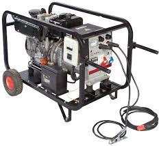 Использование сварочных генераторов