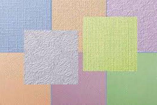 Поклейка и покраска флизелиновых обоев