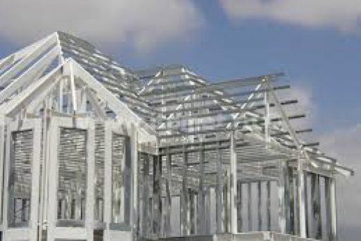 Здания из металлоконструкций.