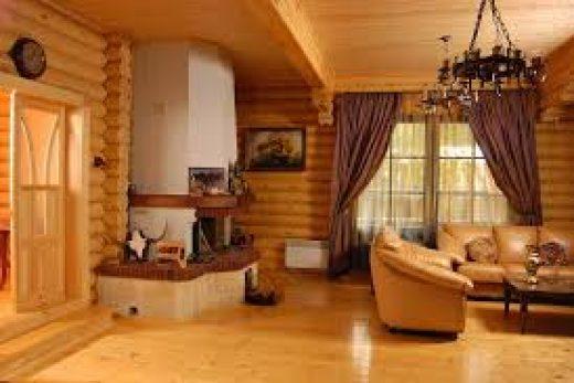 Как сделать интерьер дома из дерева
