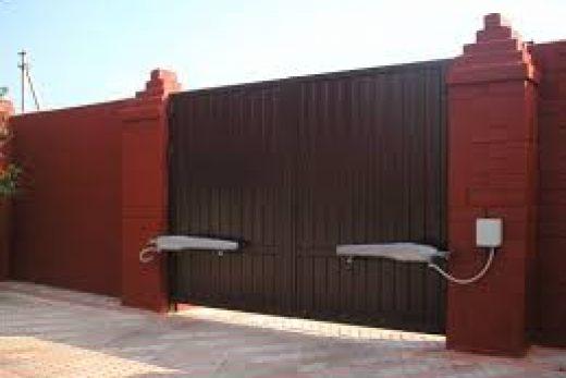 Ворота с автоматикой.