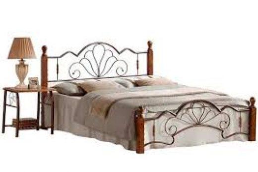 Кровати из кованого металла.