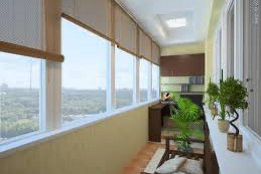 Правильное оформление балкона.