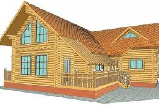 Домостроение из оцилиндрованного бревна