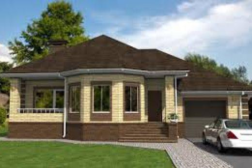 Одноэтажные дома с проектами.