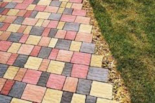 Плитка для тротуара.