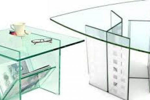 Все главные преимущества стеклянной мебели.