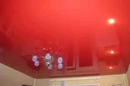 Пленочные натяжные потолки: область применения